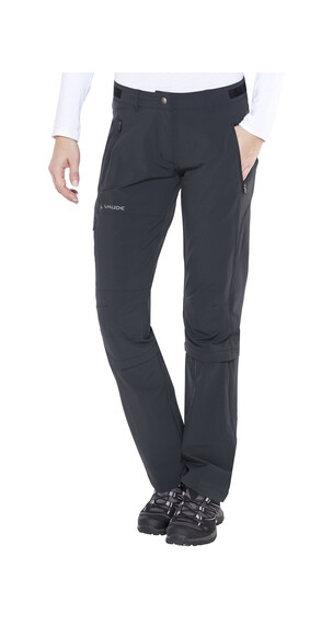 VAUDE Farley II Stretch T-Zip Capri Women black